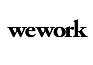 Wework logo   Corporate Gifts   corporate gifts for employees