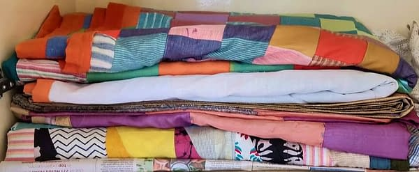 Khadi reversible bed covers
