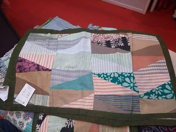 Khadi pillow covers
